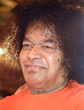 """Sathya Sai Baba teaches that the Gayatri Mantra """"will protect you from harm wherever you are, make your intellect shine, improve your power of speech, and dispel the darkness of ignorance."""""""